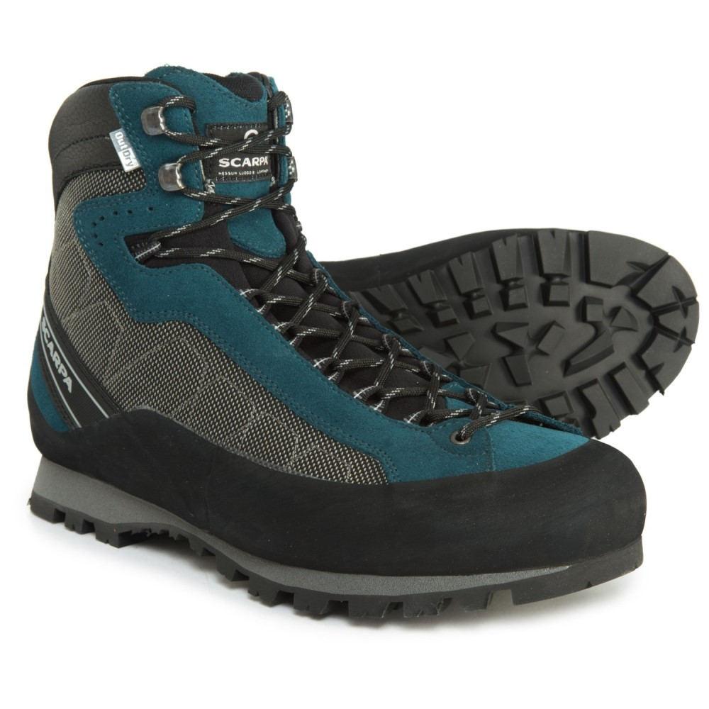 スカルパ Scarpa メンズ ハイキング・登山 シューズ・靴【Made in Italy Marmolada Trek OutDry Hiking Boots - Waterproof】Shark-Lake Blue
