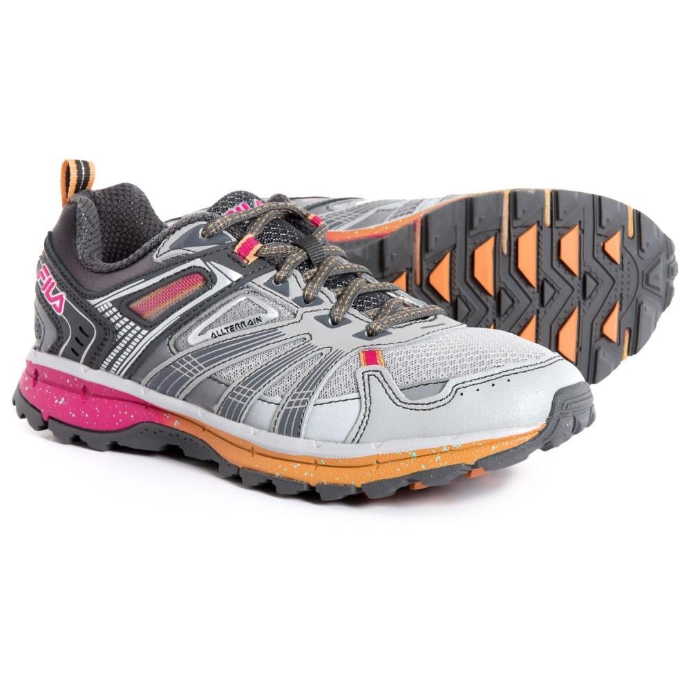 フィラ Fila レディース ランニング・ウォーキング シューズ・靴【TKO TR 4.0 Trail Running Shoes】Hirise/Pewter/Orange Pop