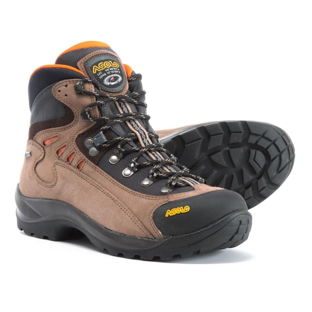 アゾロ Asolo レディース ハイキング・登山 シューズ・靴【Fusion Oroel GV Gore-Tex Hiking Boots - Waterproof】Nicotine/Black