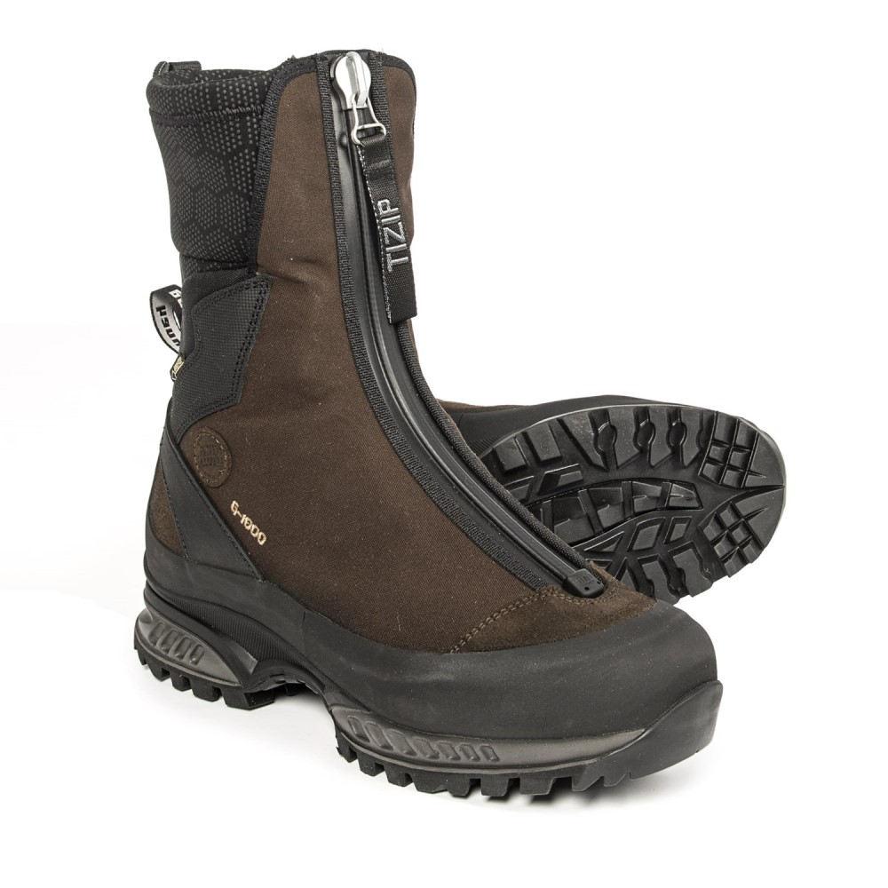 ハンワグ Hanwag メンズ ハイキング・登山 シューズ・靴【Yellowstone Gaiter Gore-Tex Hiking Boots - Waterproof】Erde/Brown