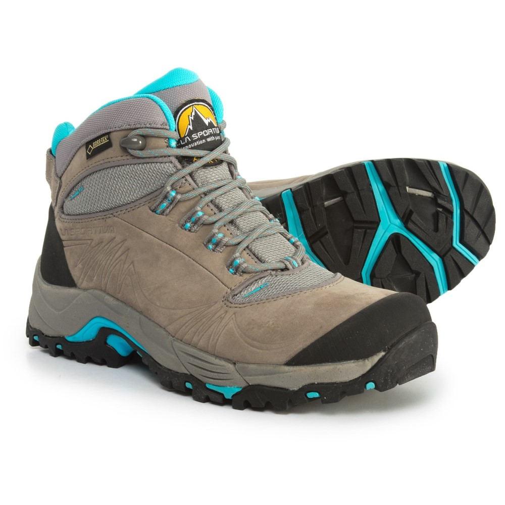 ラスポルティバ La Sportiva レディース ハイキング・登山 シューズ・靴【FC 4.0 Gore-Tex Hiking Boots - Waterproof】Grey/Ice Blue