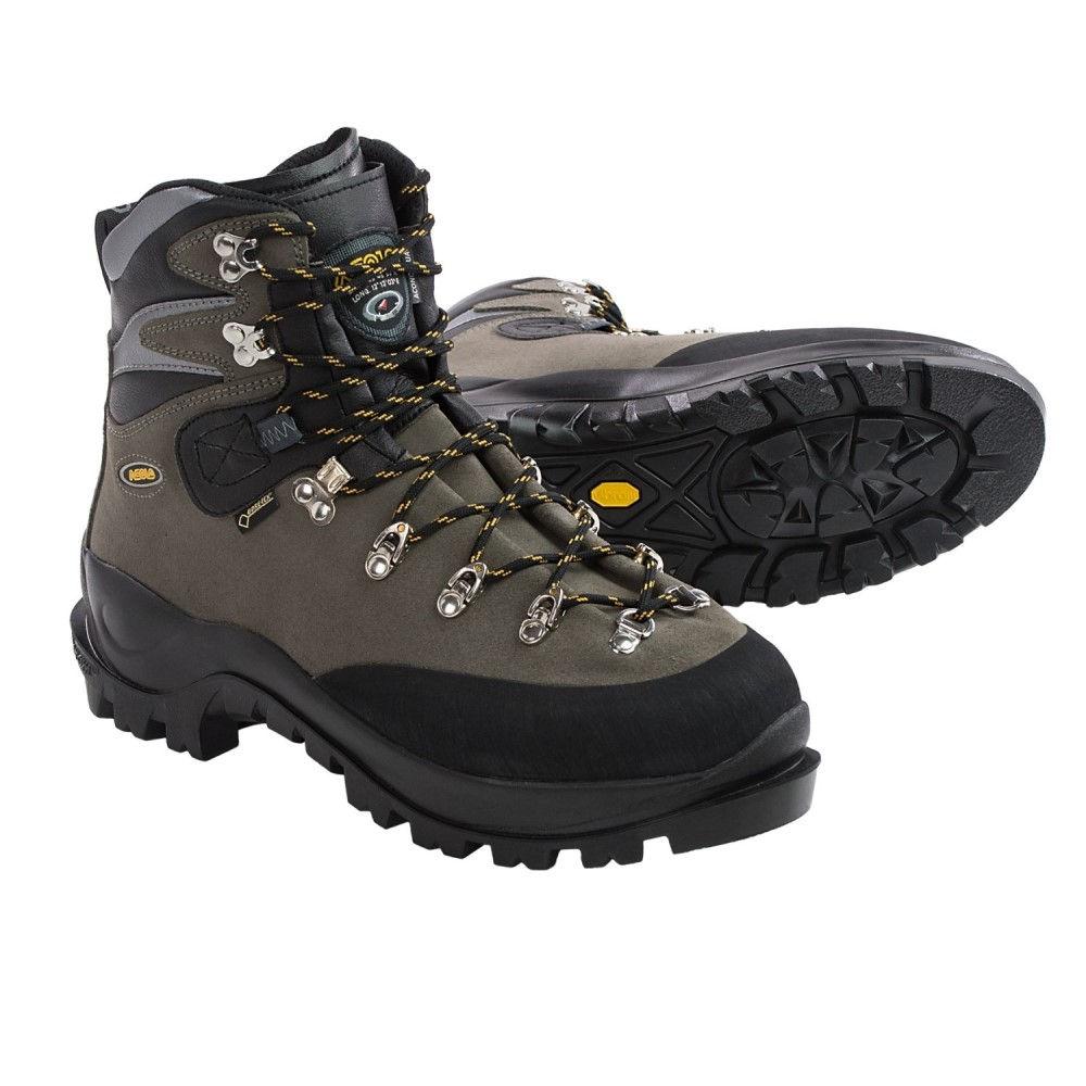 アゾロ Asolo メンズ ハイキング・登山 シューズ・靴【Aconcagua Gore-Tex Mountaineering Boots - Waterproof】Graphite/Black
