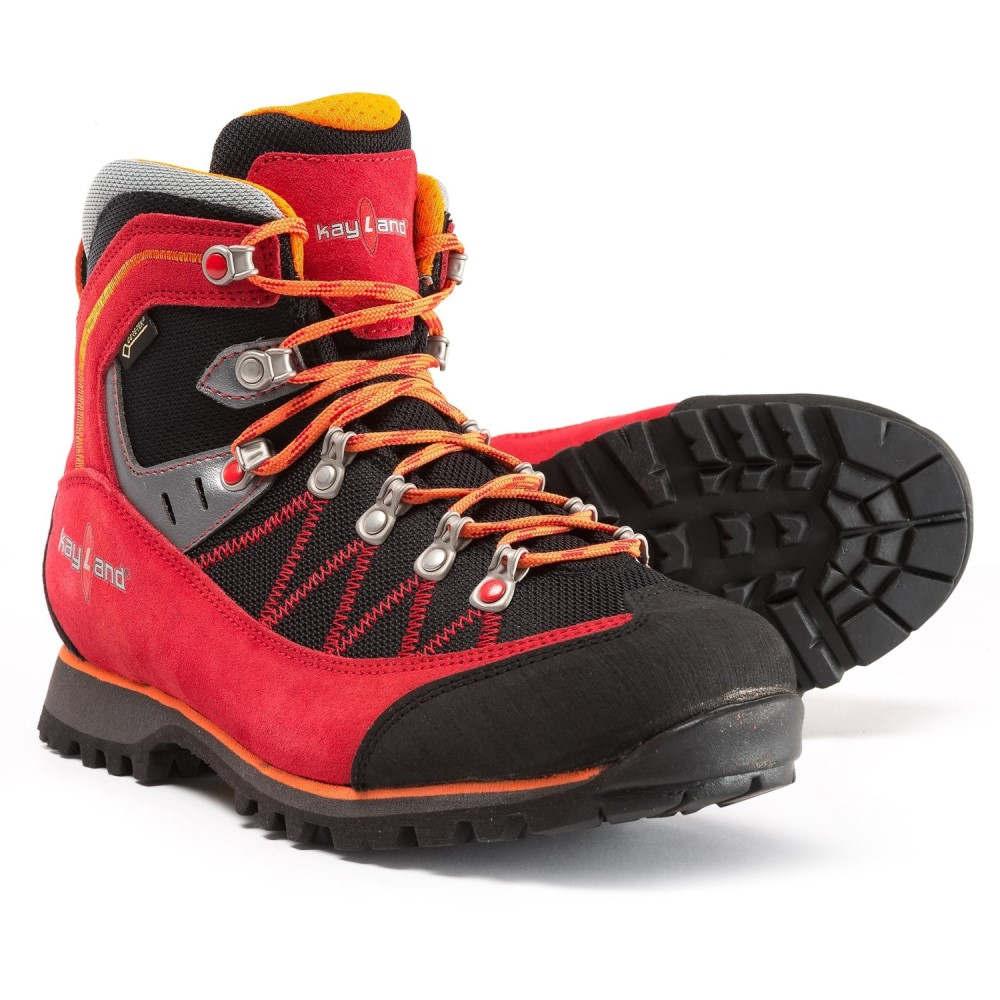 ケイランド Kayland メンズ ハイキング・登山 シューズ・靴【Plume Micro Gore-Tex Hiking Boots - Waterproof】Red