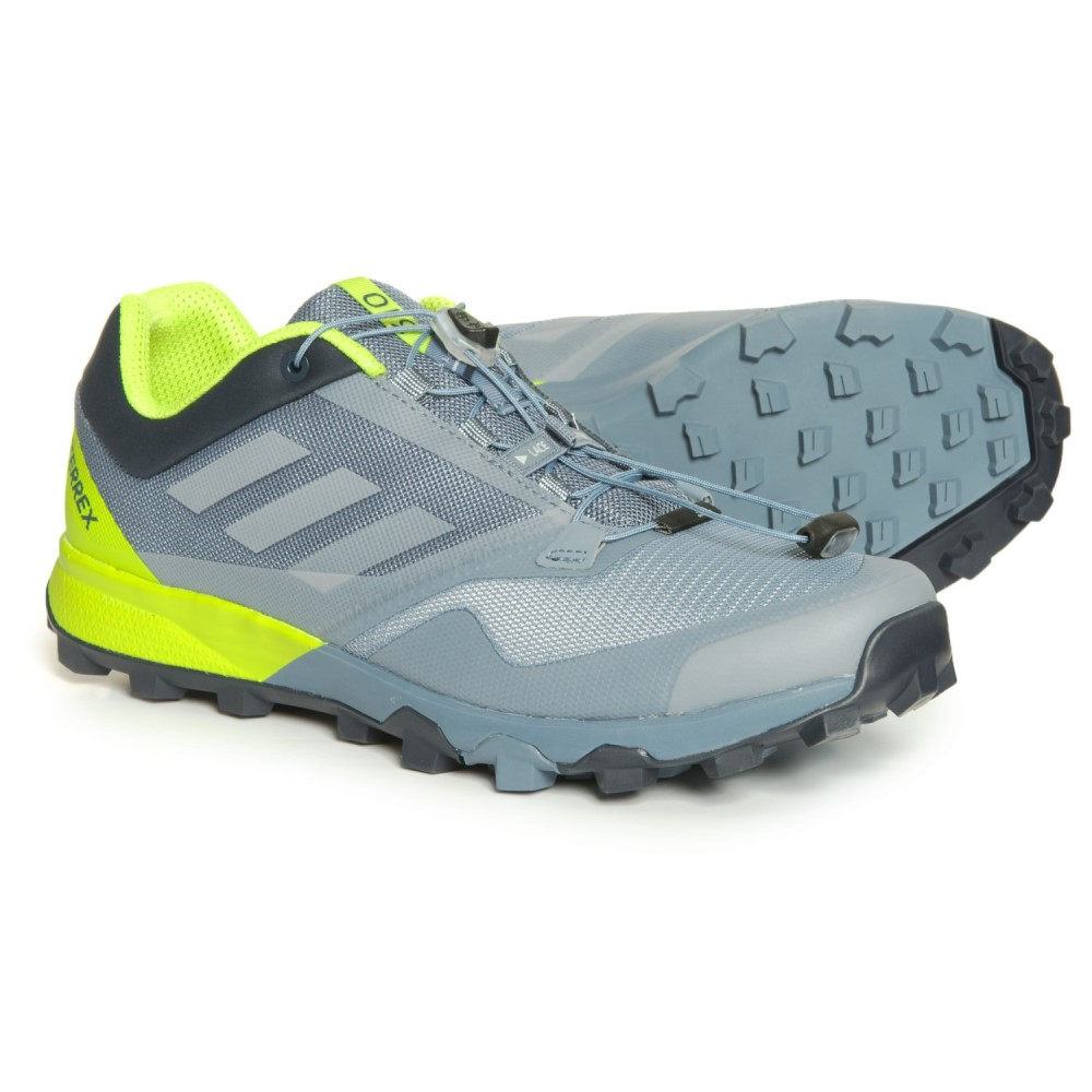 アディダス adidas メンズ ランニング・ウォーキング シューズ・靴【Terrex Trailmaker Trail Running Shoes】Raw Steel/Grey One/Solar Slime