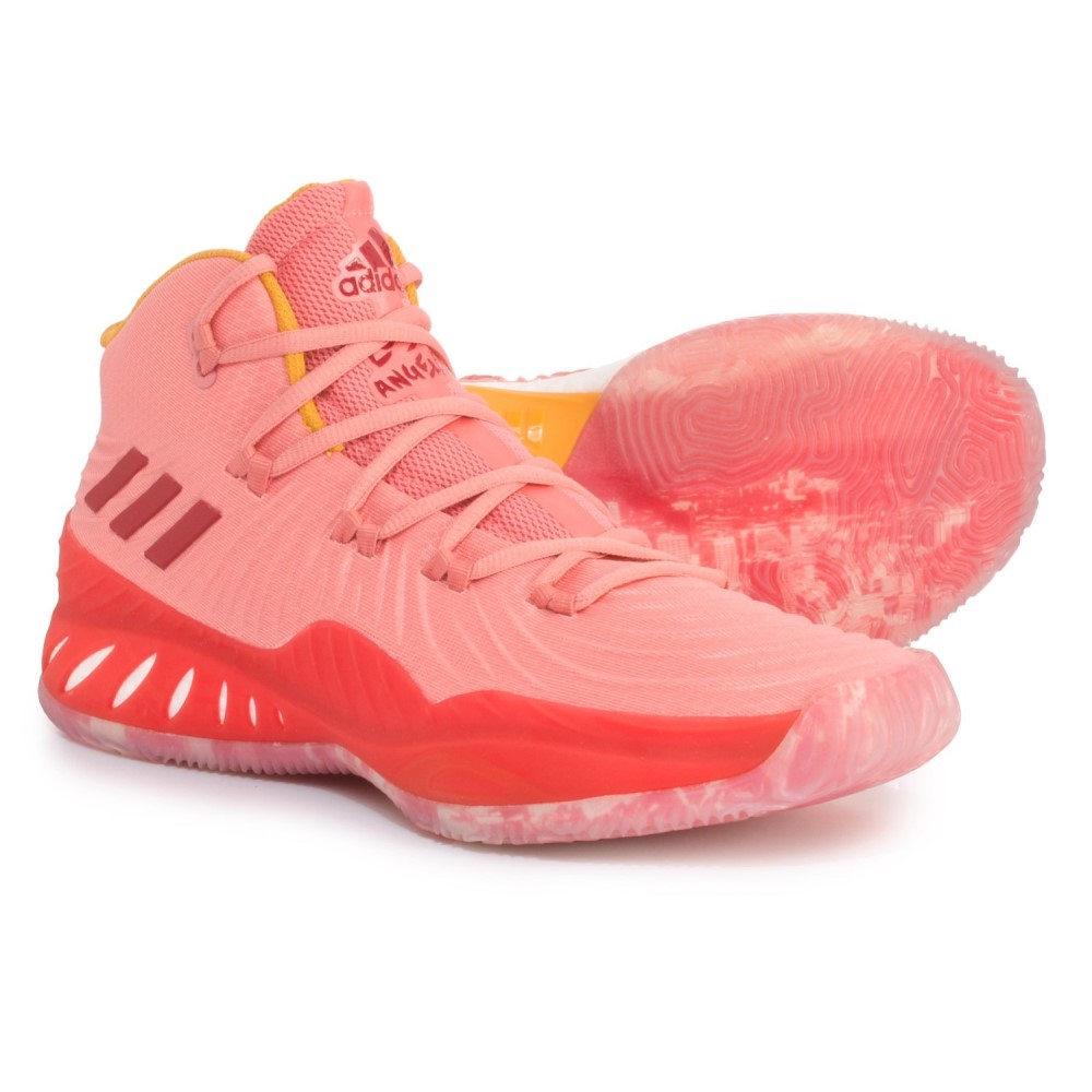アディダス adidas メンズ バスケットボール シューズ・靴【SM Crazy Explosive NBA Shoes】Tactile Rose/Footwear White