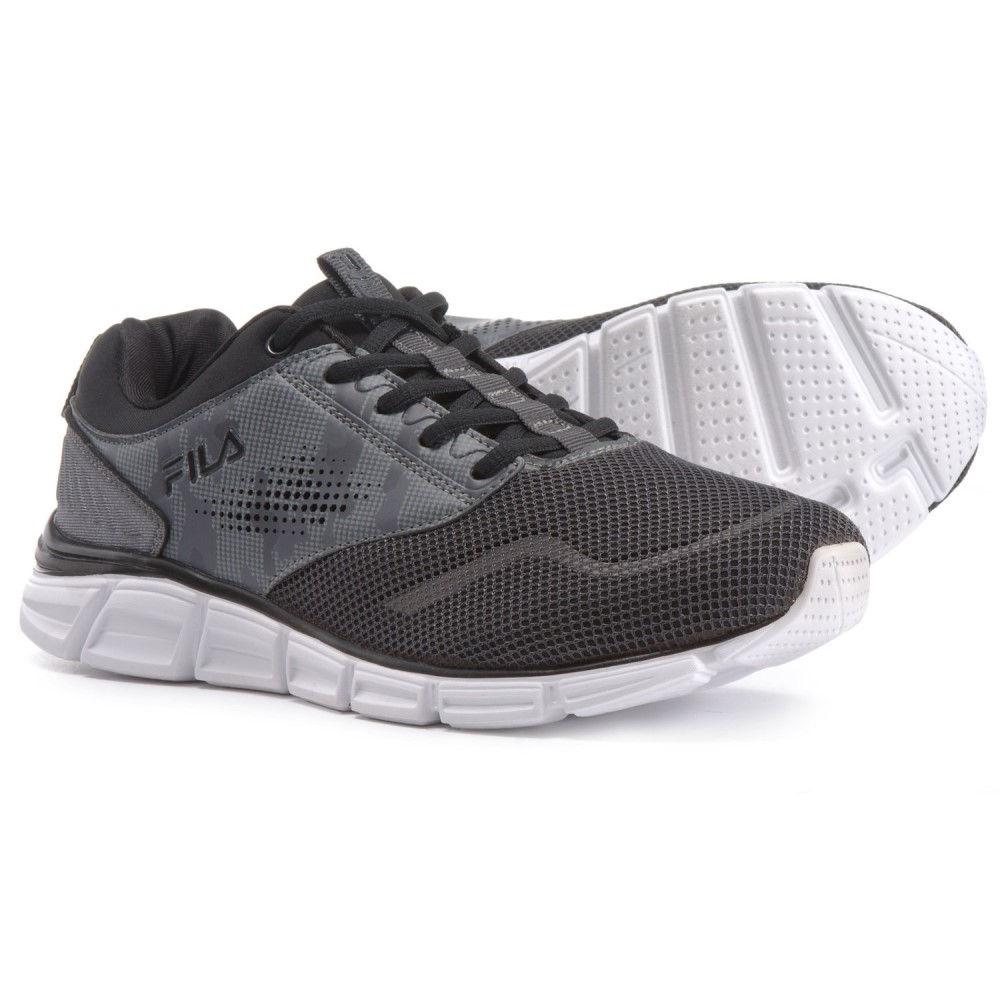 フィラ Fila メンズ ランニング・ウォーキング シューズ・靴【Memory Primary NSO Running Shoes】Dark Shadow/Black/Monument