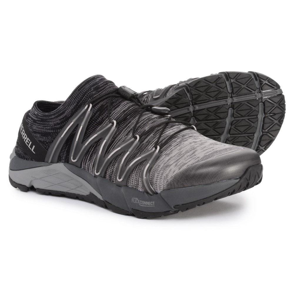 メレル Merrell メンズ ランニング・ウォーキング シューズ・靴【Bare Access Flex Knit Running Shoes】Black