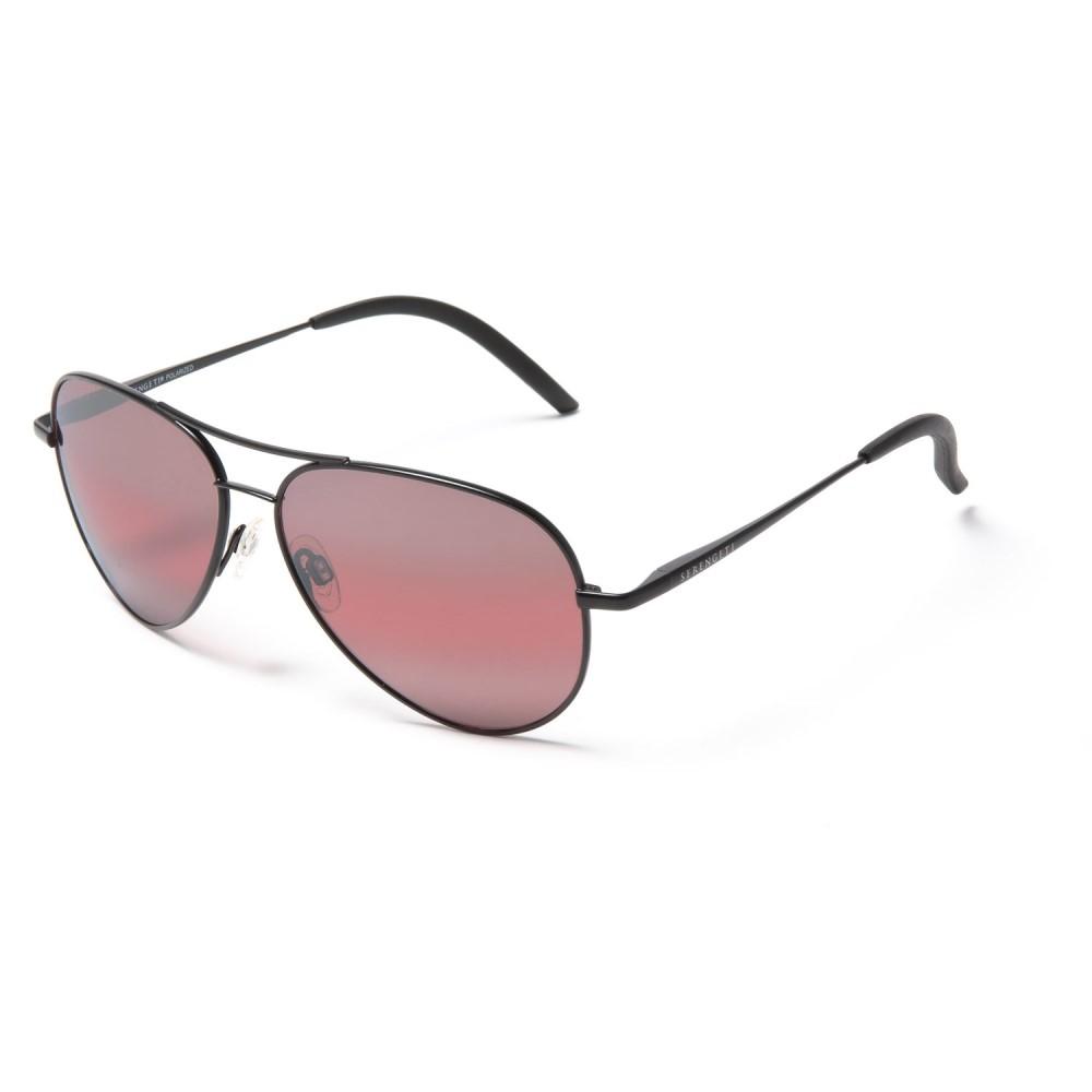 ブッシュネル Serengeti レディース メガネ・サングラス【Carrara Sunglasses - Polarized, Photochromic Glass Lenses】Satin Black/Sedona Bi Mirror