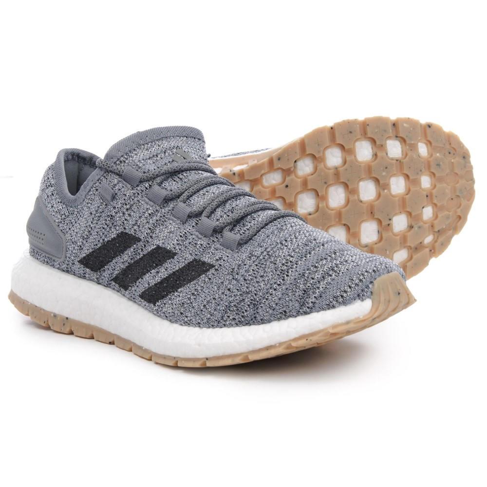 アディダス adidas メンズ ランニング・ウォーキング シューズ・靴【PureBOOST All Terrain Trail Running Shoes】Cloud White/Core Black/Grey Three
