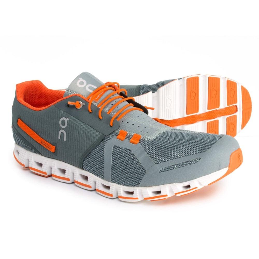 オン On メンズ ランニング・ウォーキング シューズ・靴【Cloud Running Shoes】Olive/Flame
