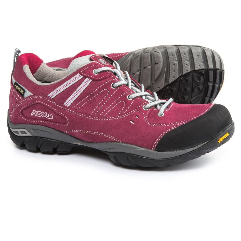 アゾロ Asolo レディース ハイキング・登山 シューズ・靴【Outlaw GV Gore-Tex Hiking Shoes - Waterproof】Red Bud