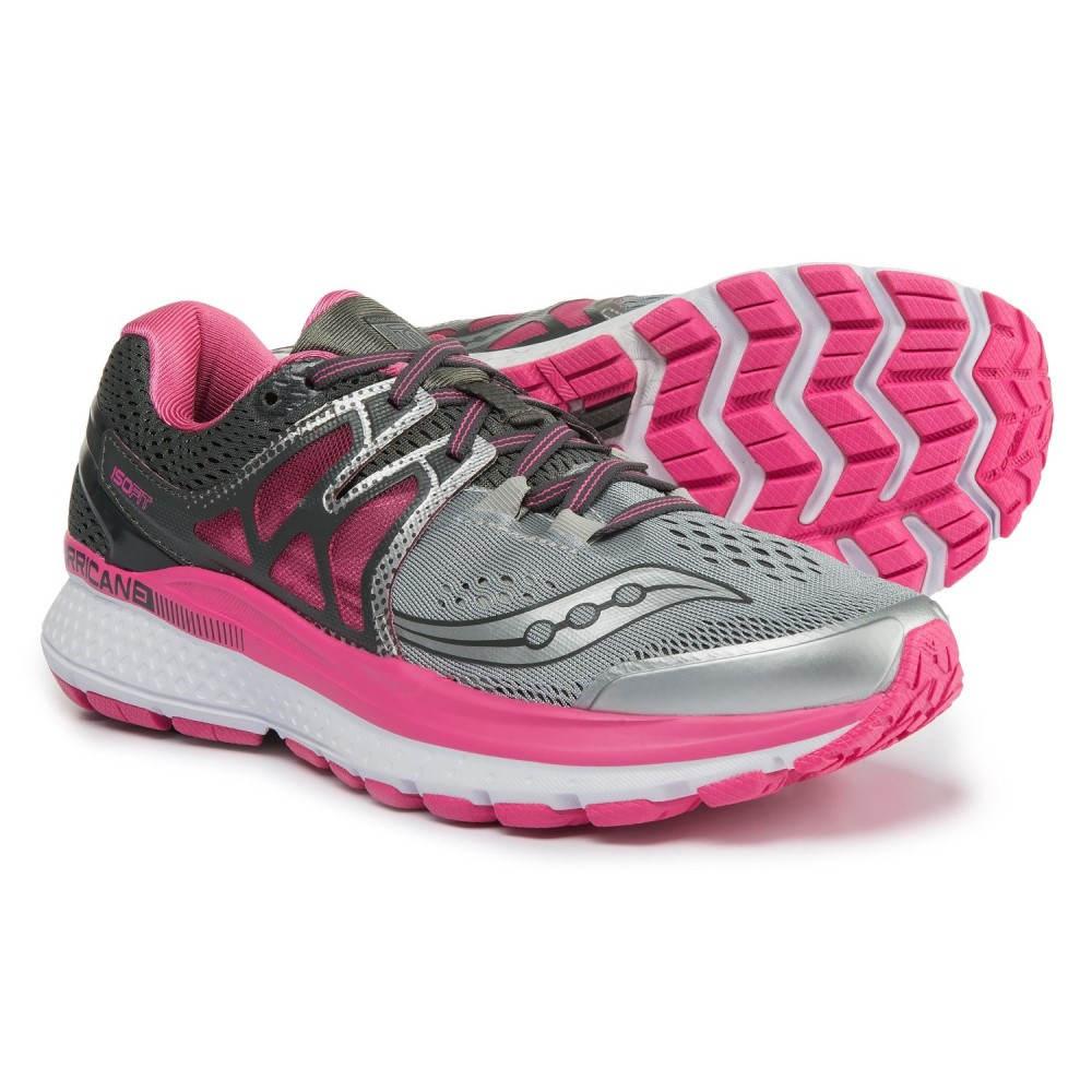【超特価sale開催】 サッカニー 3 Saucony レディース ランニング・ウォーキング サッカニー レディース シューズ・靴【Hurricane ISO 3 Running Shoes】Grey/Pink/White, フジチョウ:ae91f1cf --- clftranspo.dominiotemporario.com