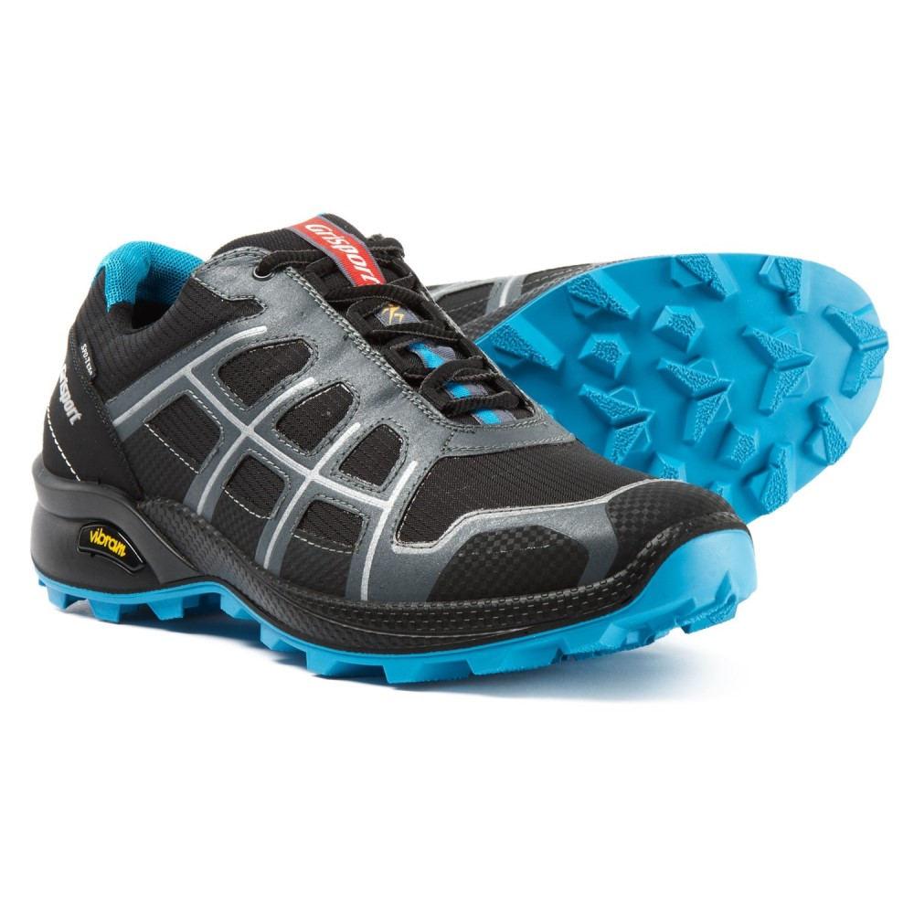 肌触りがいい グリスポーツ Grisport Grisport メンズ ランニング in・ウォーキング シューズ Quick・靴【Made in Italy Quick Trail Running Shoes - Waterproof】Black/Grey/Blue, AVANCE アヴァンス:e9f4ed8c --- supercanaltv.zonalivresh.dominiotemporario.com