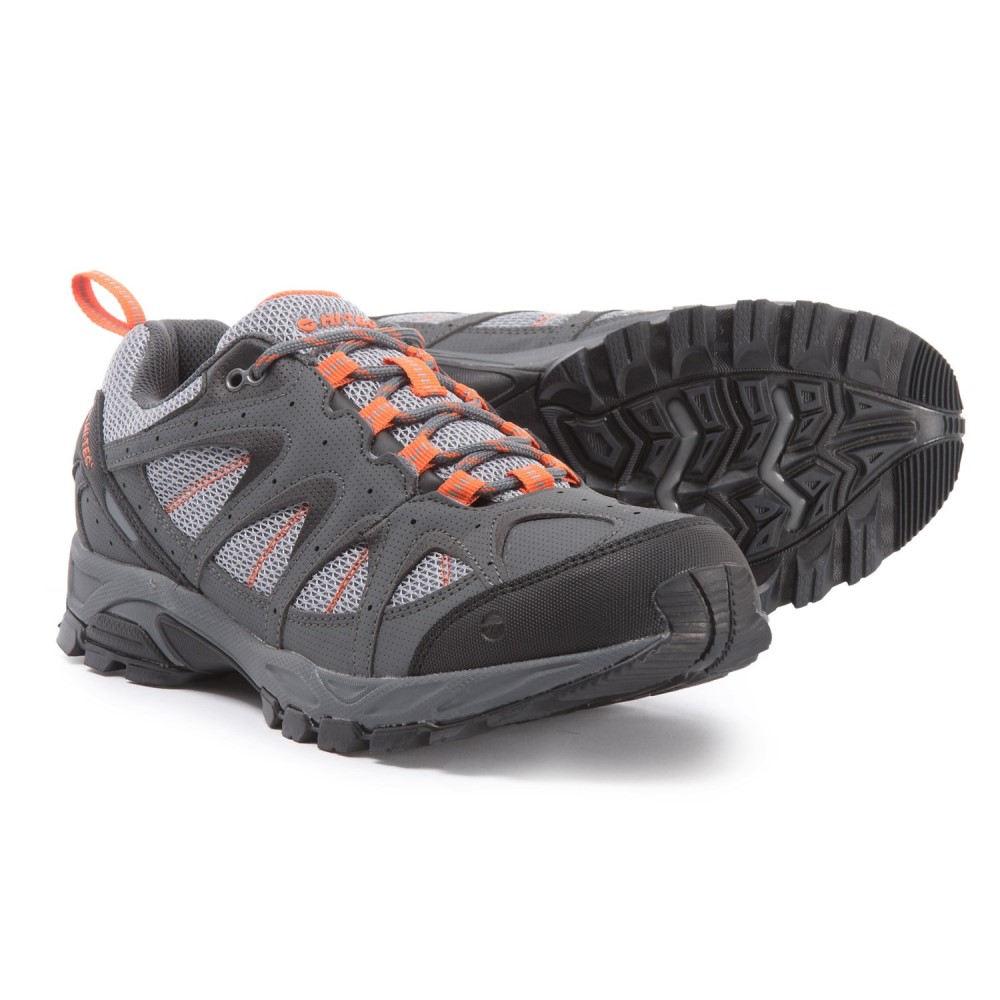 ハイテック Hi-Tec メンズ ハイキング・登山 シューズ・靴【Quixhill Hiking Shoes】Graphite/Cool Grey/Burnt Orange