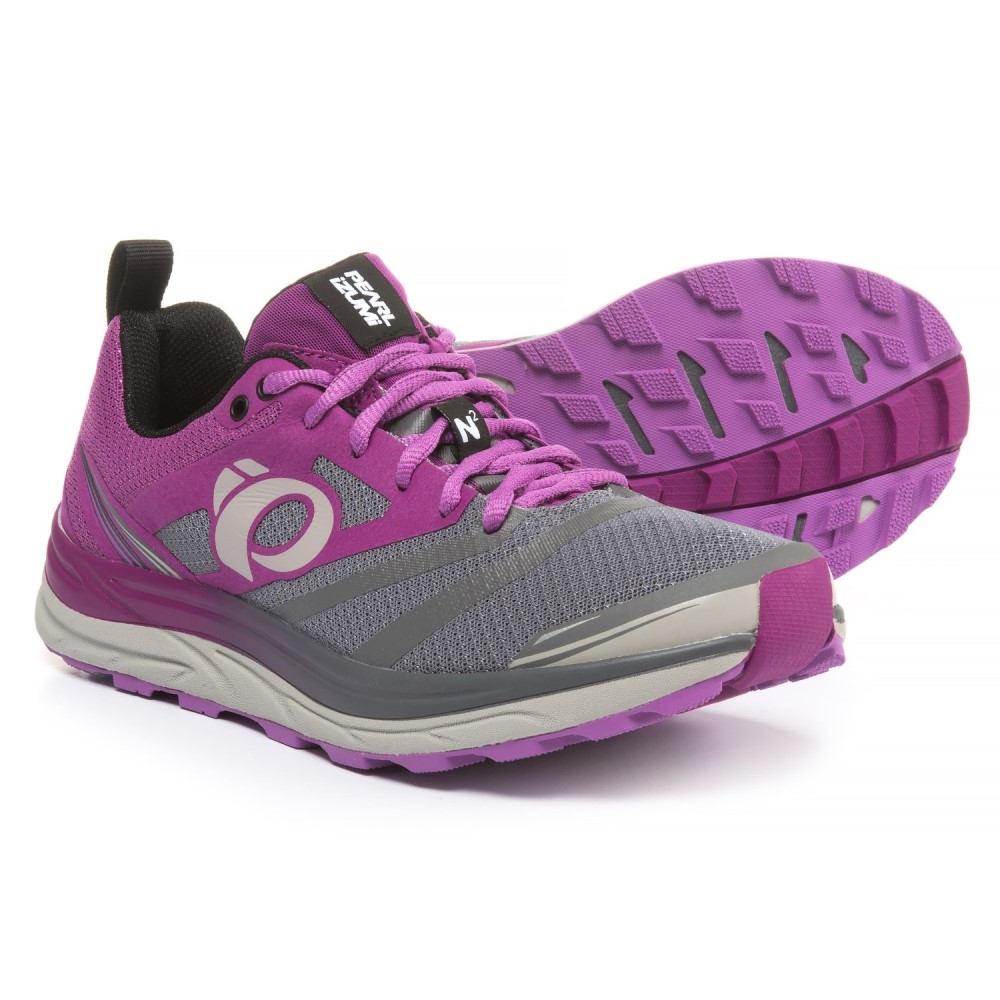 パールイズミ Pearl Izumi レディース ランニング・ウォーキング シューズ・靴【E:MOTION Trail N2 V3 Running Shoes】Purple Wine/Smoked Pearl