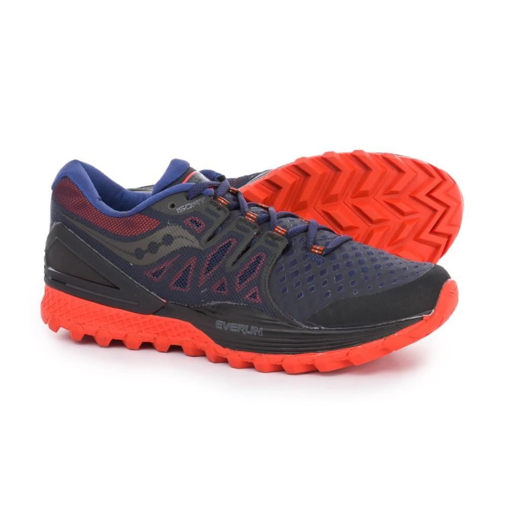 サッカニー Saucony メンズ ランニング・ウォーキング シューズ・靴【Xodus ISO 2 Trail Running Shoes】Black/Orange