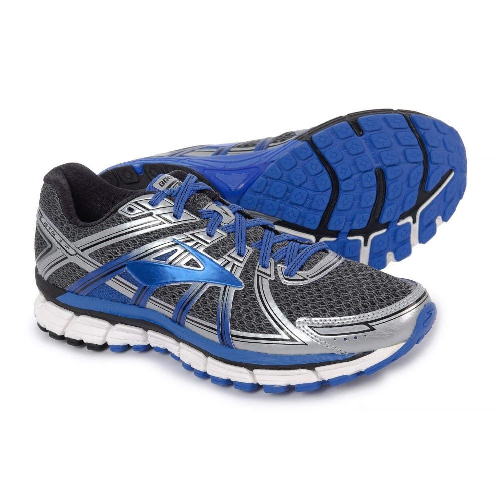 ブルックス Brooks メンズ ランニング・ウォーキング シューズ・靴【Adrenaline GTS 17 Running Shoes】Anthracite/Electric Brooks Blue/Silver