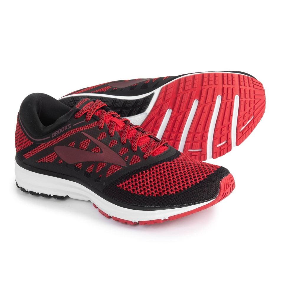 ブルックス Brooks メンズ ランニング・ウォーキング シューズ・靴【Revel Running Shoes】Toreador/Tawny Port/Black