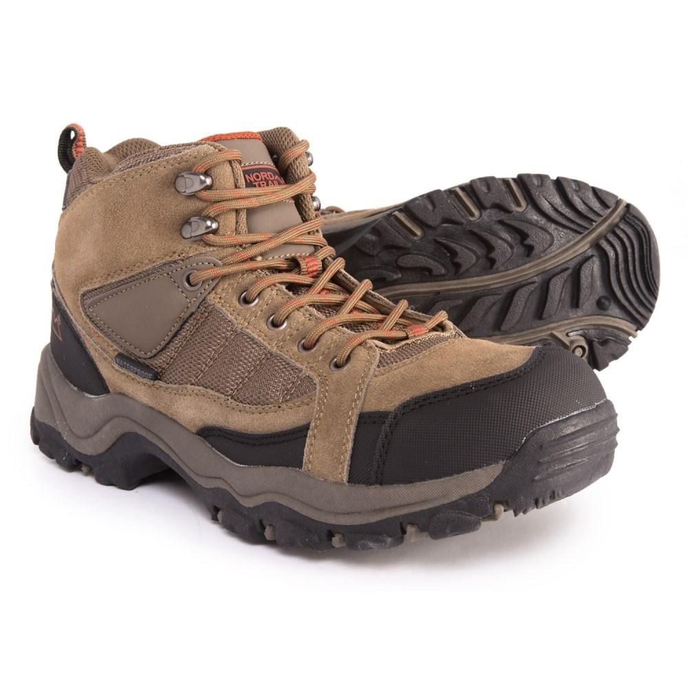 ノード トレイル Nord Trail メンズ ハイキング・登山 シューズ・靴【Mt. Hunter Hi II Hiking Boots - Waterproof】Taupe/Orange