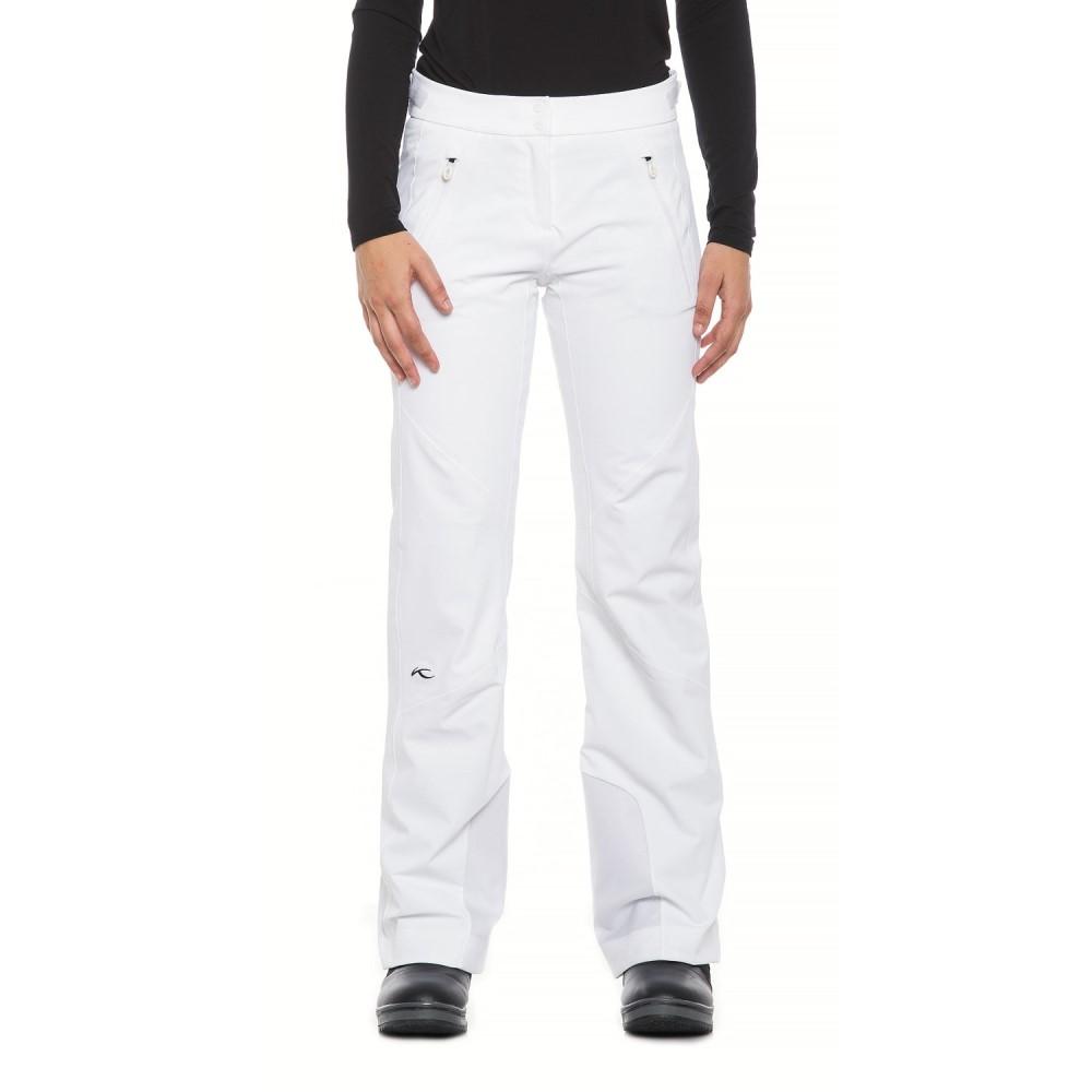 チュース KJUS レディース スキー・スノーボード ボトムス・パンツ【Formula Ski Pants - Waterproof, Insulated】White