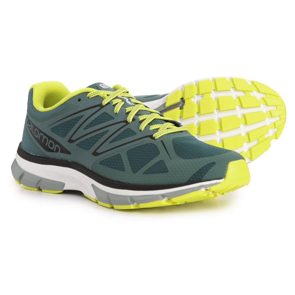 サロモン Salomon メンズ ランニング・ウォーキング シューズ・靴【Sonic Running Shoes】North Atlantic/White/Sulphur Spring