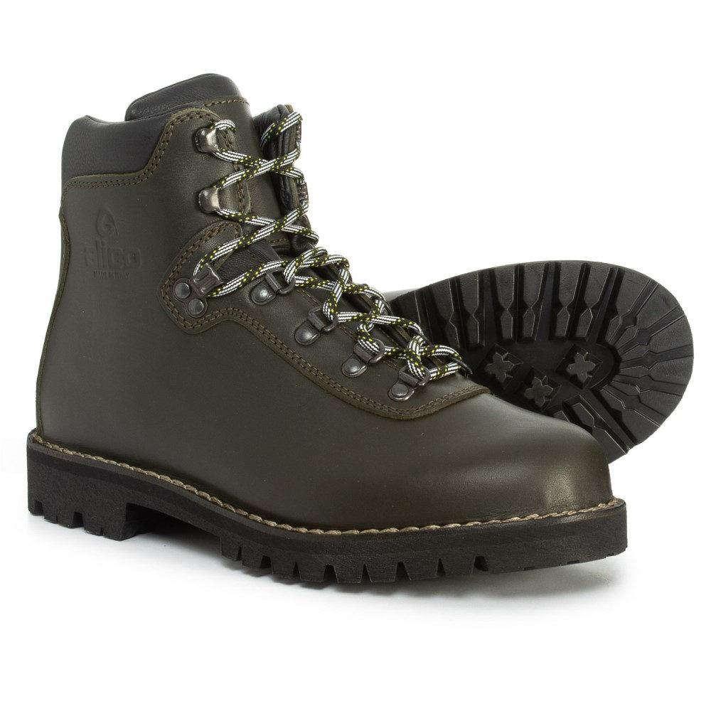 アリコ Alico メンズ ハイキング・登山 シューズ・靴【Made in Italy Summit Hiking Boots - Leather】Dark Green