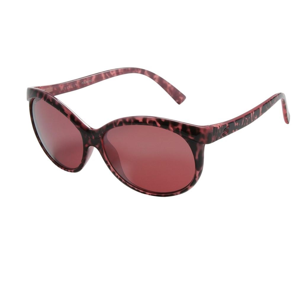 ブッシュネル Serengeti レディース メガネ・サングラス【Caterina Sunglasses - Polarized Glass Lenses】Eggplant/Sedona