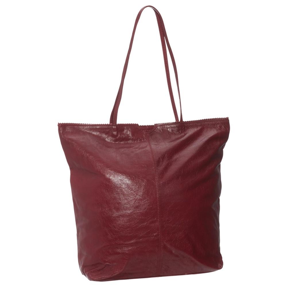 ラチコ Latico レディース バッグ トートバッグ【North South Leather Tote Bag】Red