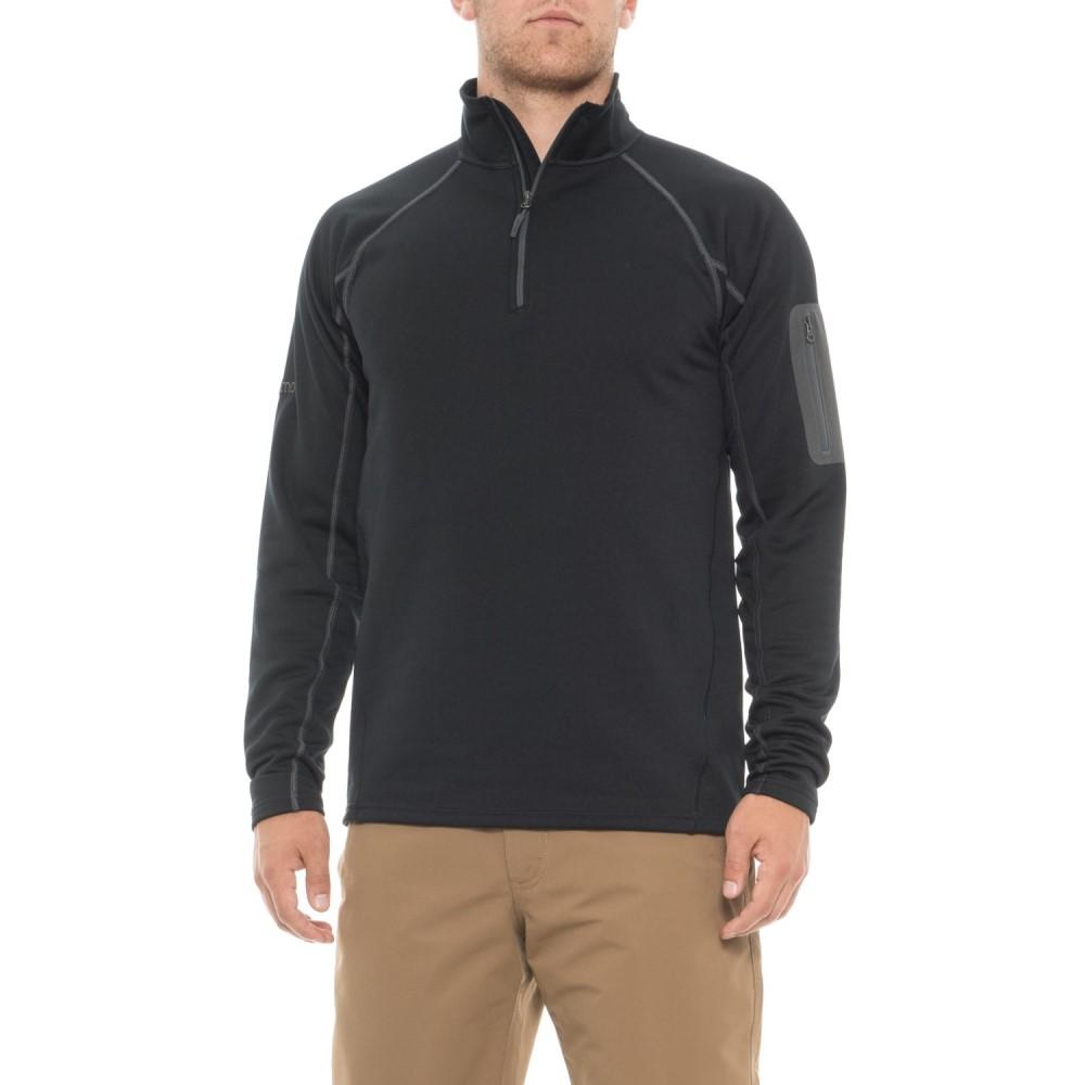 マーモット Marmot メンズ トップス フリース【Stretch Fleece Shirt - Zip Neck, Long Sleeve】New Black