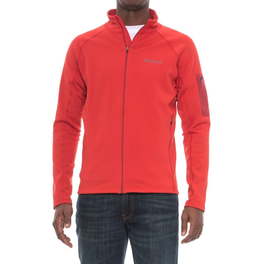 マーモット Marmot メンズ トップス フリース【Stretch Fleece Jacket】Team Red