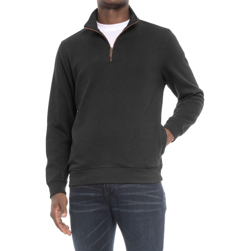 ペンドルトン Pendleton メンズ トップス フリース【Alsea Sweatshirt - Fleece Lined, Zip Neck】Dark Grey/Green