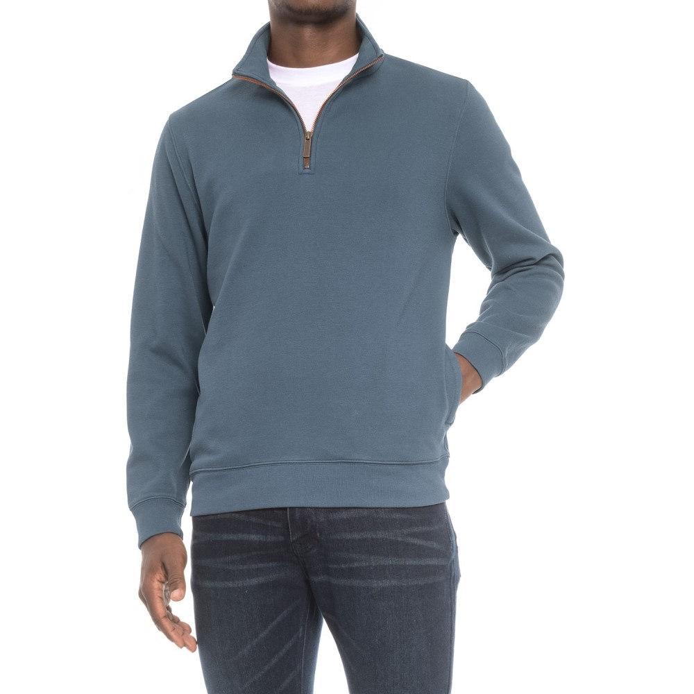ペンドルトン Pendleton メンズ トップス フリース【Alsea Sweatshirt - Fleece Lined, Zip Neck】Blue/Red