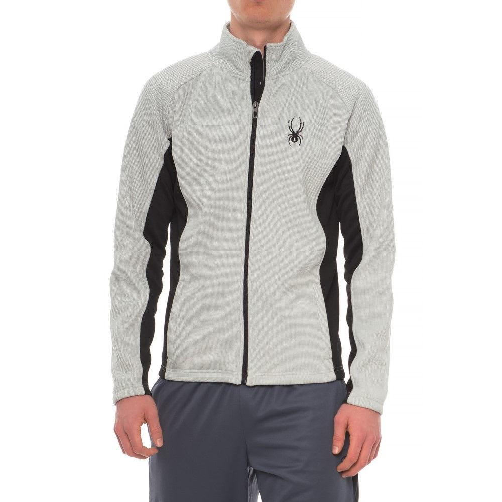 スパイダー Spyder メンズ トップス フリース【Bonded Fleece Sweater - Zip Front】Cirrus Grey