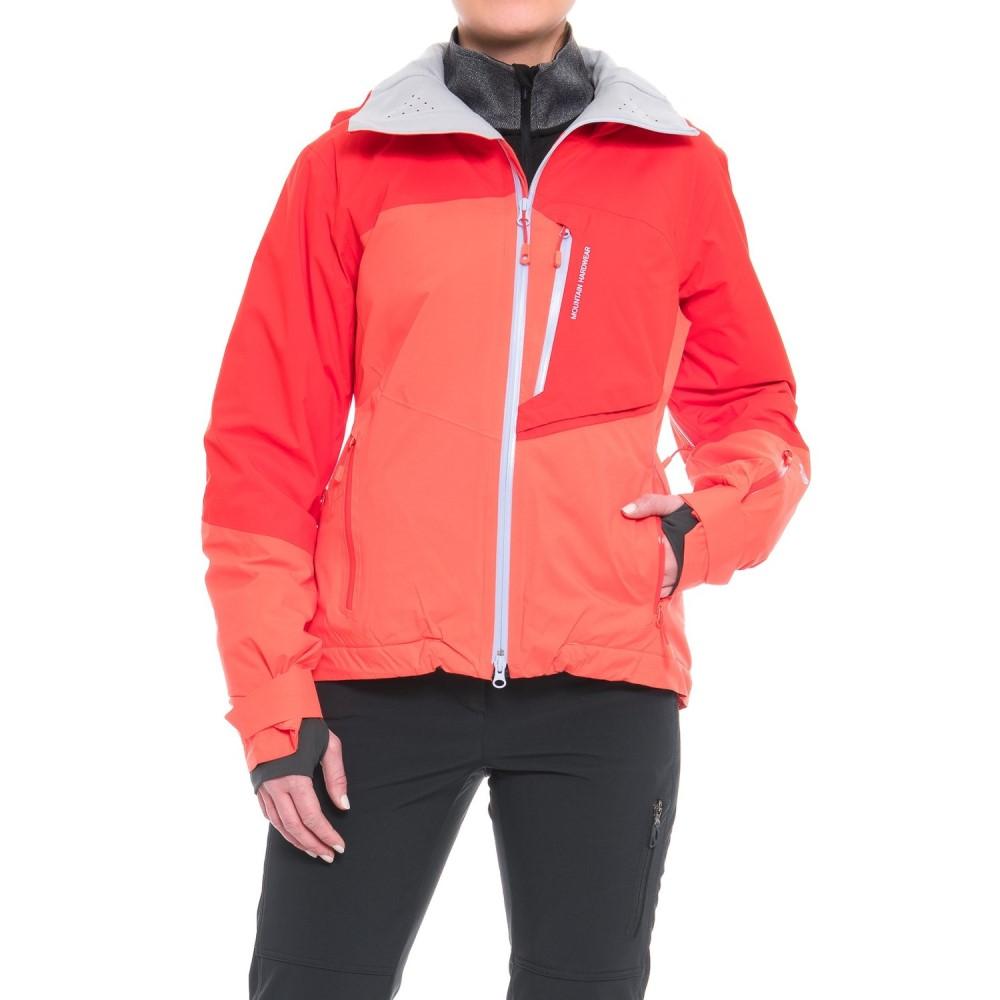 マウンテンハードウェア Mountain Hardwear レディース スキー・スノーボード アウター【Vintersaga Ski Jacket - Waterproof, Insulated】Bright Ember/Fiery Red