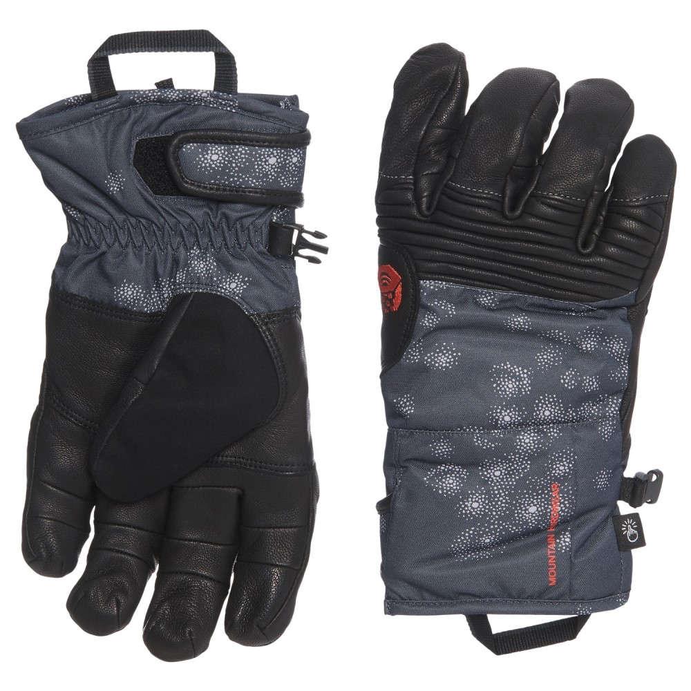 マウンテンハードウェア Mountain Hardwear レディース 手袋・グローブ【Powder Maven Glove - Waterproof, Insulated, Leather】Inkwell