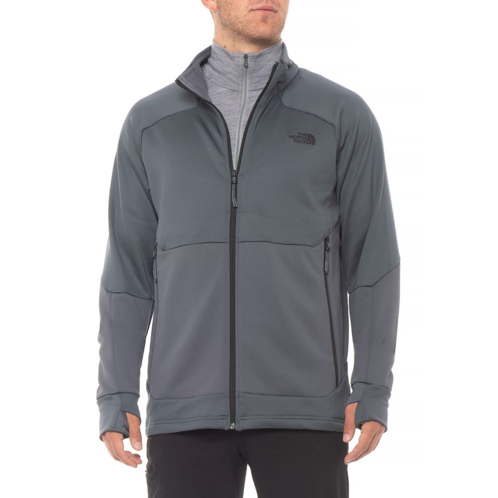 ザ ノースフェイス The North Face メンズ トップス フリース【Croda Rossa Fleece Jacket】Turbulence Grey
