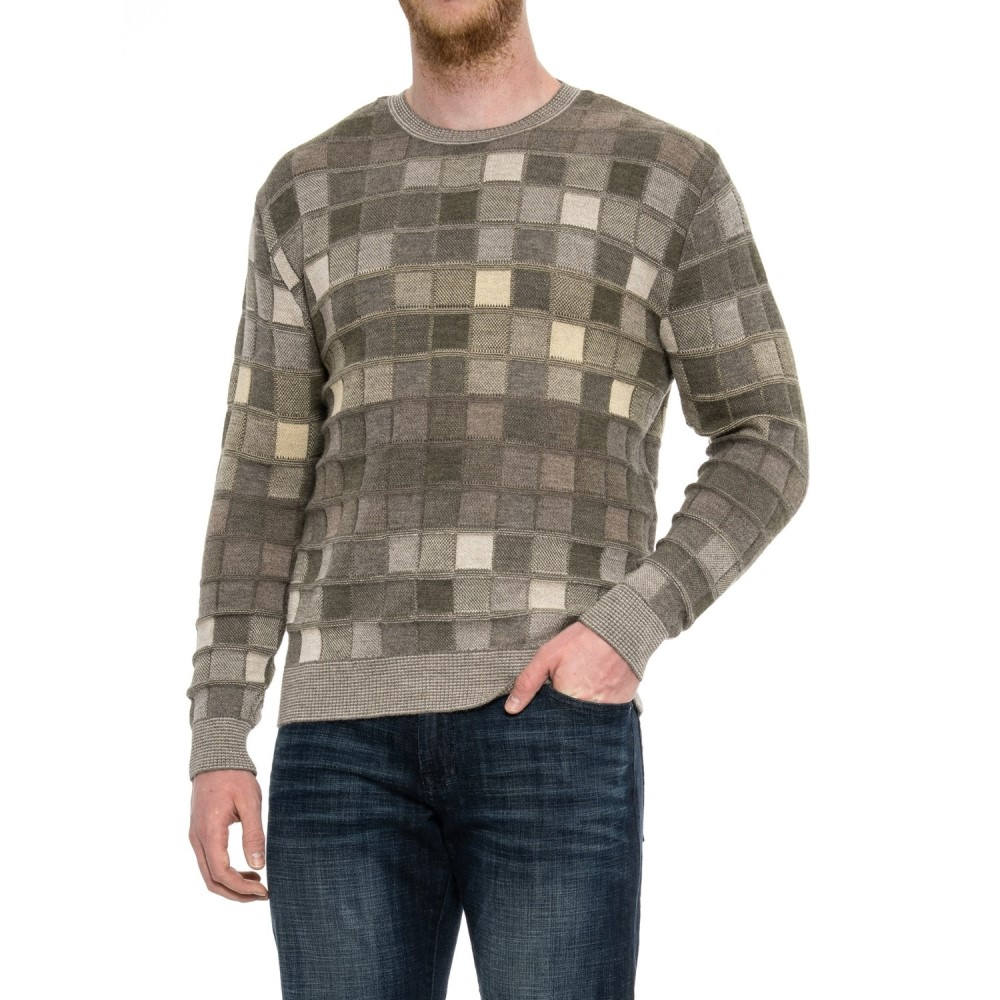 d18194b31e9e ブルー Blue メンズ トップス ニット・セーター Parquet Sweater - Crew ...