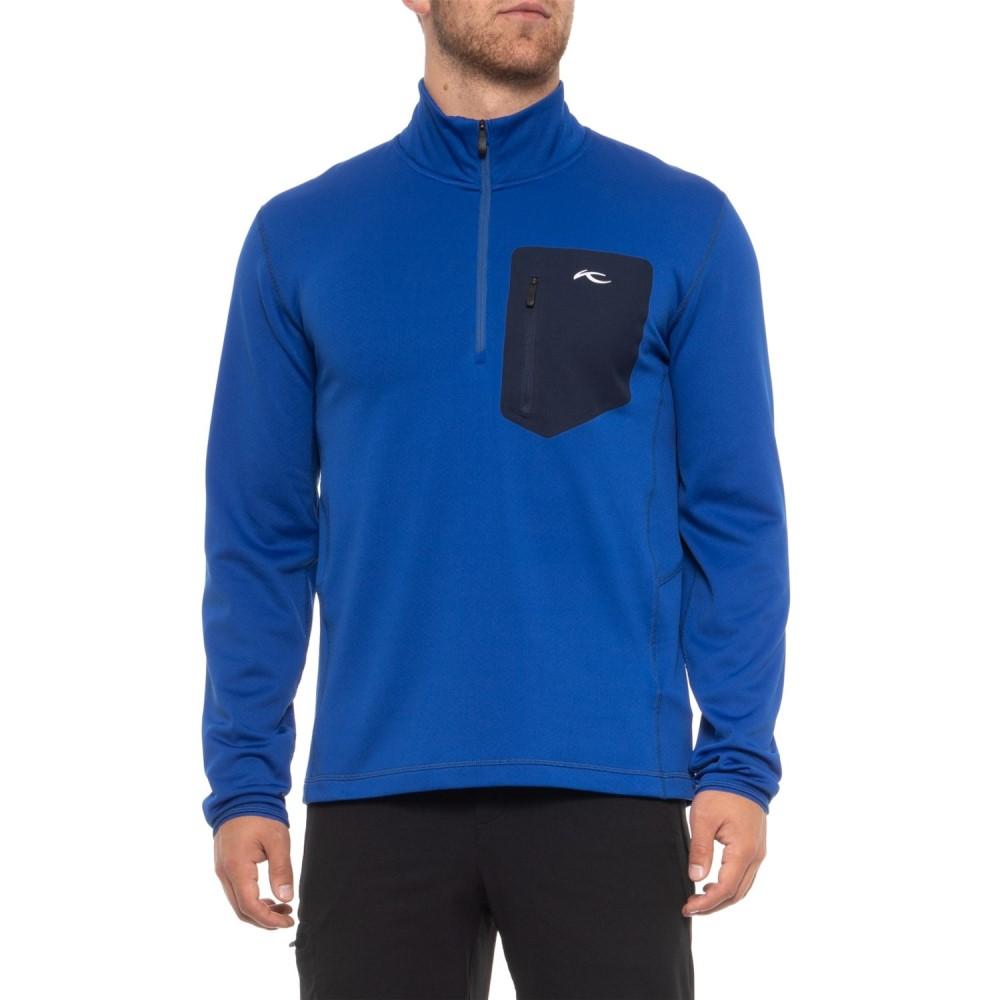 チュース KJUS メンズ トップス フリース【Hydraulic Fleece Shirt - Zip Neck, Long Sleeve】Alaska