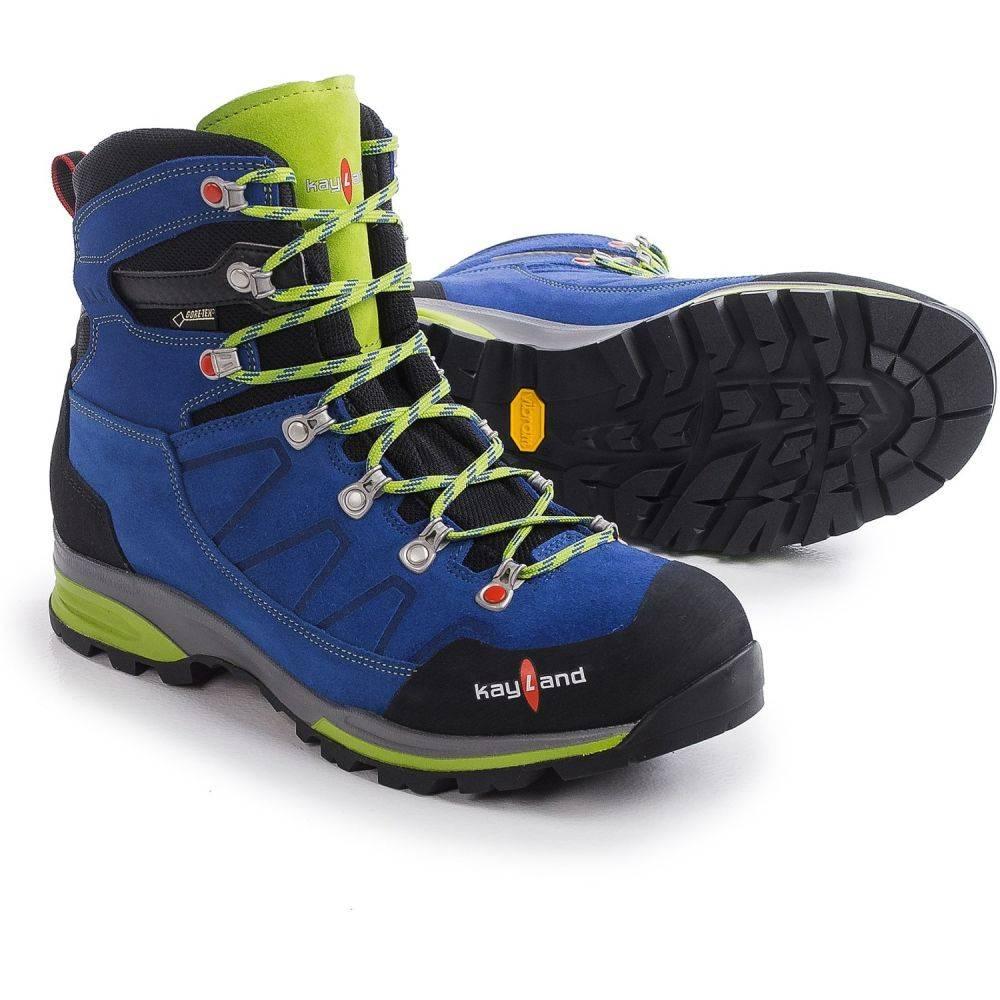 ケイランド Kayland メンズ ハイキング・登山 シューズ・靴【Titan Rock Gore-Tex Hiking Boots - Waterproof】Cobalt Lime