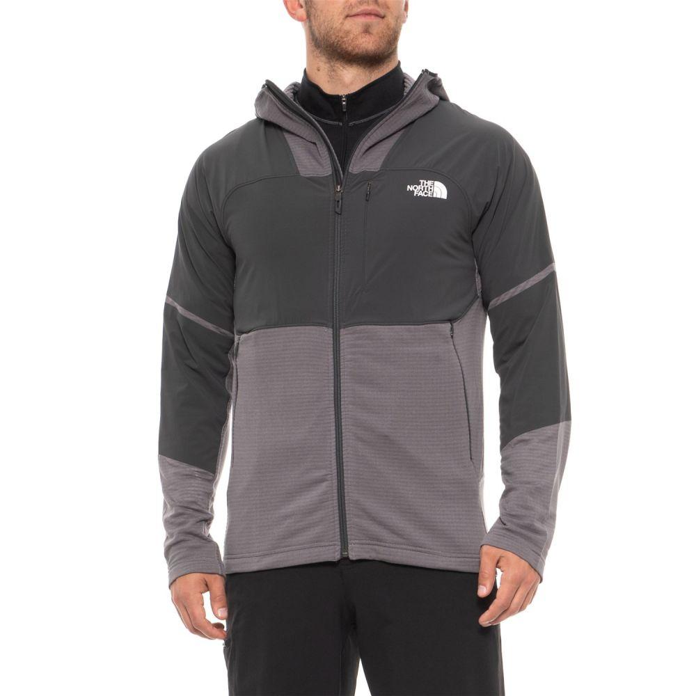 ザ ノースフェイス The North Face メンズ トップス フリース【Progressor Power Grid Fleece Sweater - Zip Neck, Long Sleeve】Mid Grey