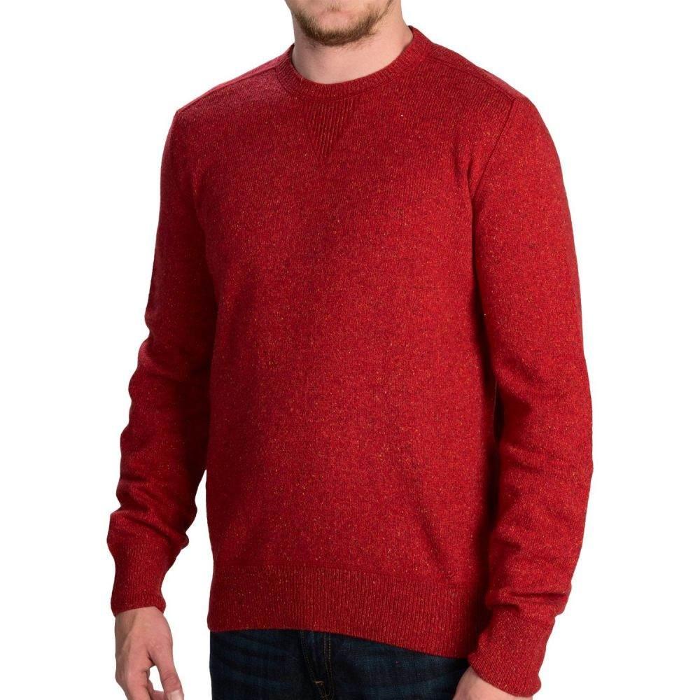 バーブァー Barbour メンズ トップス ニット・セーター【Hilt Sweater - Wool-Silk-Viscose】Crimson