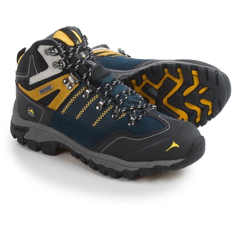 パシフィックマウンテン Pacific Mountain メンズ ハイキング・登山 シューズ・靴【Ascend Mid Hiking Boots - Waterproof】Midnight Navy/Black/Freesia