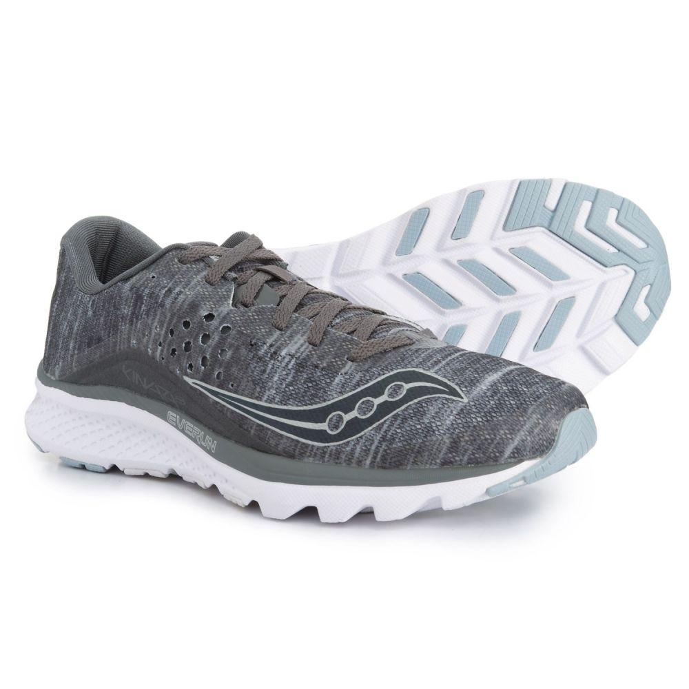 サッカニー Saucony メンズ ランニング・ウォーキング シューズ・靴【Kinvara 8 Running Shoes】Grey