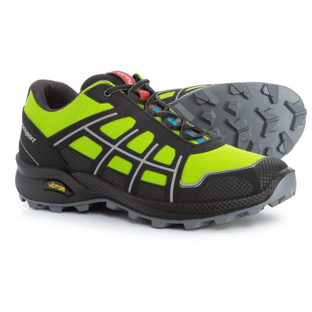 グリスポーツ Grisport メンズ ランニング・ウォーキング シューズ・靴【Quick Trail Running Shoes】Green/Black