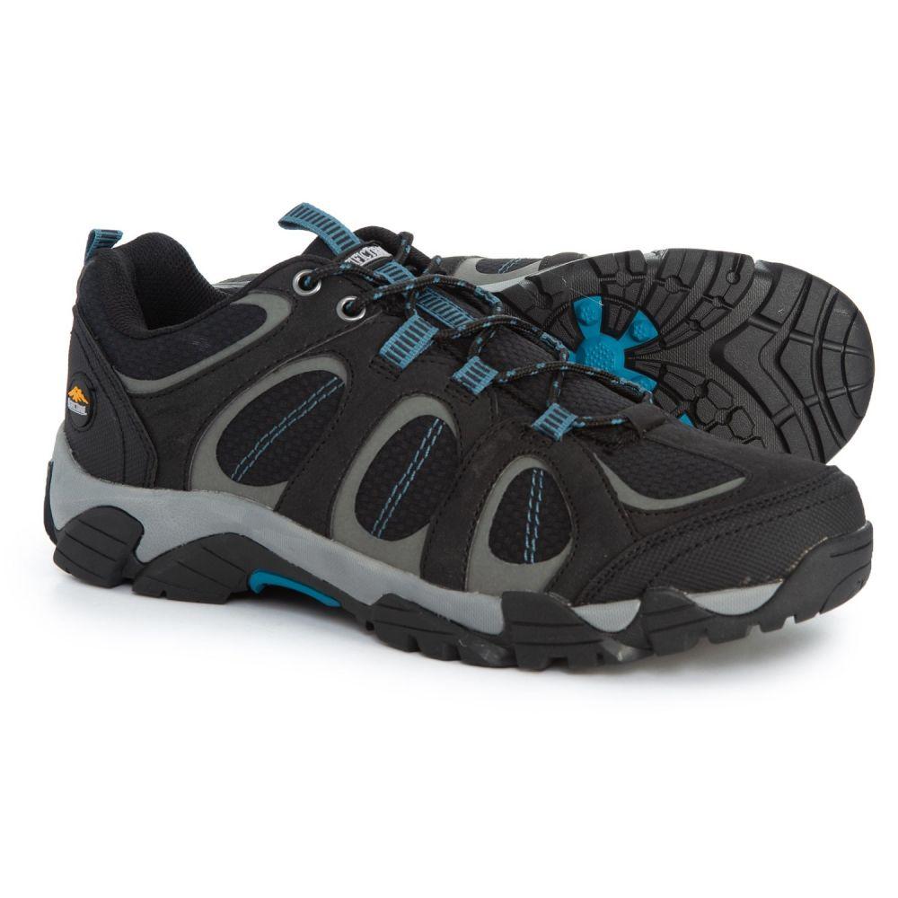パシフィックトレイル Pacific Trail メンズ ハイキング・登山 シューズ・靴【Logan Hiking Shoes】Black/Royal