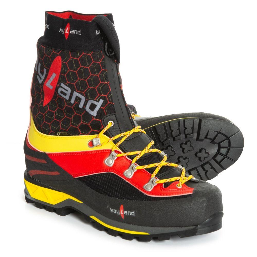 ケイランド Kayland メンズ ハイキング・登山 シューズ・靴【Apex Evo Gore-Tex Mountaineering Boots - Waterproof】Black/Red