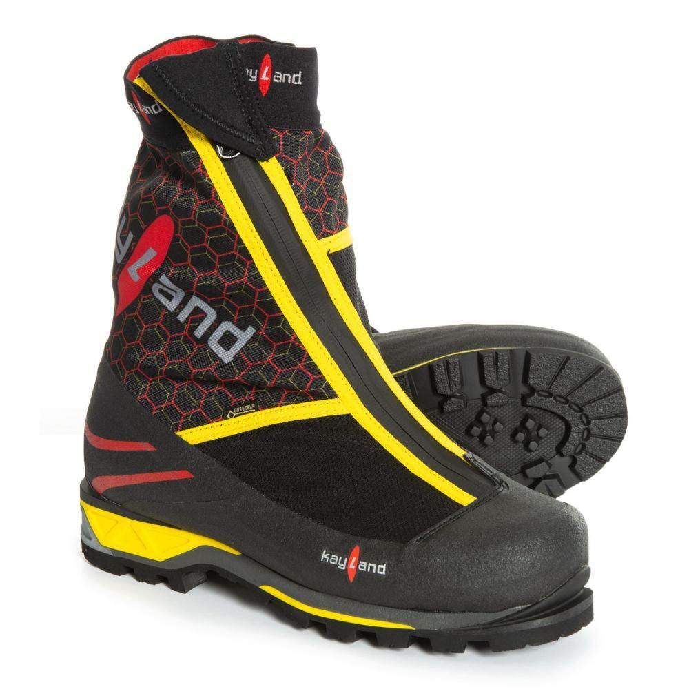 ケイランド Kayland メンズ ハイキング・登山 シューズ・靴【4001 Gore-Tex Mountaineering Boots - Waterproof】Black/Red