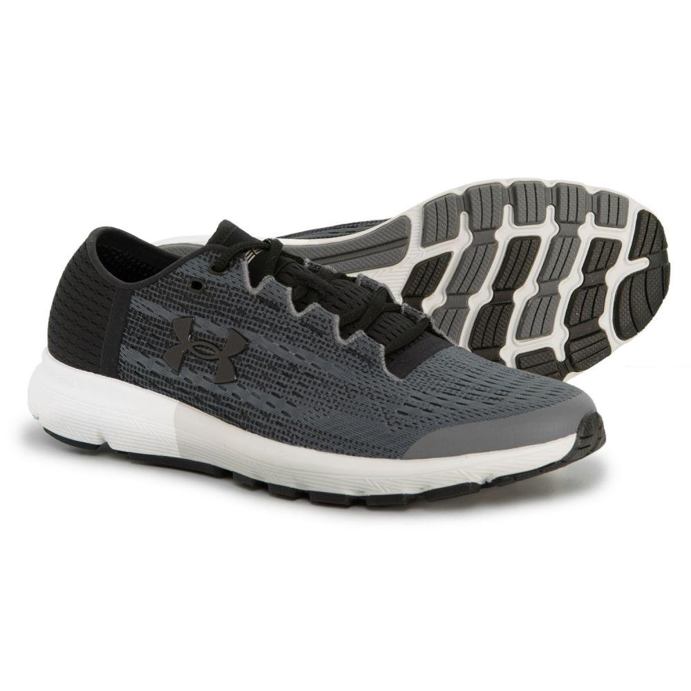 アンダーアーマー Under Armour メンズ ランニング・ウォーキング シューズ・靴【SpeedForm Velociti Record Equipped Running Shoes】Rhino Gray/Glacier Gray