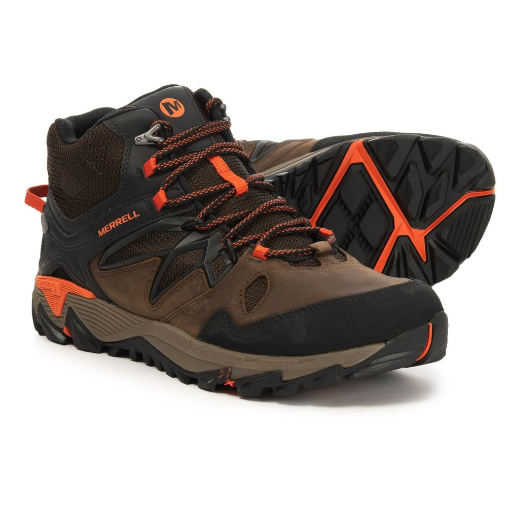 メレル Merrell メンズ ハイキング・登山 シューズ・靴【All Out Blaze 2 Mid Hiking Boots - Waterproof】Clay