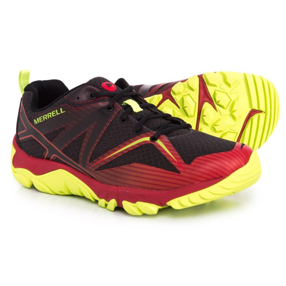 メレル Merrell メンズ ランニング・ウォーキング シューズ・靴【MQM Edge Trail Running Shoes】Red